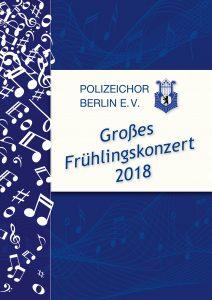 Titelseite Berlin Frühjahr 2018
