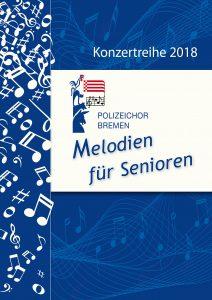 Titelseite Bremen Konzertreihe 2018