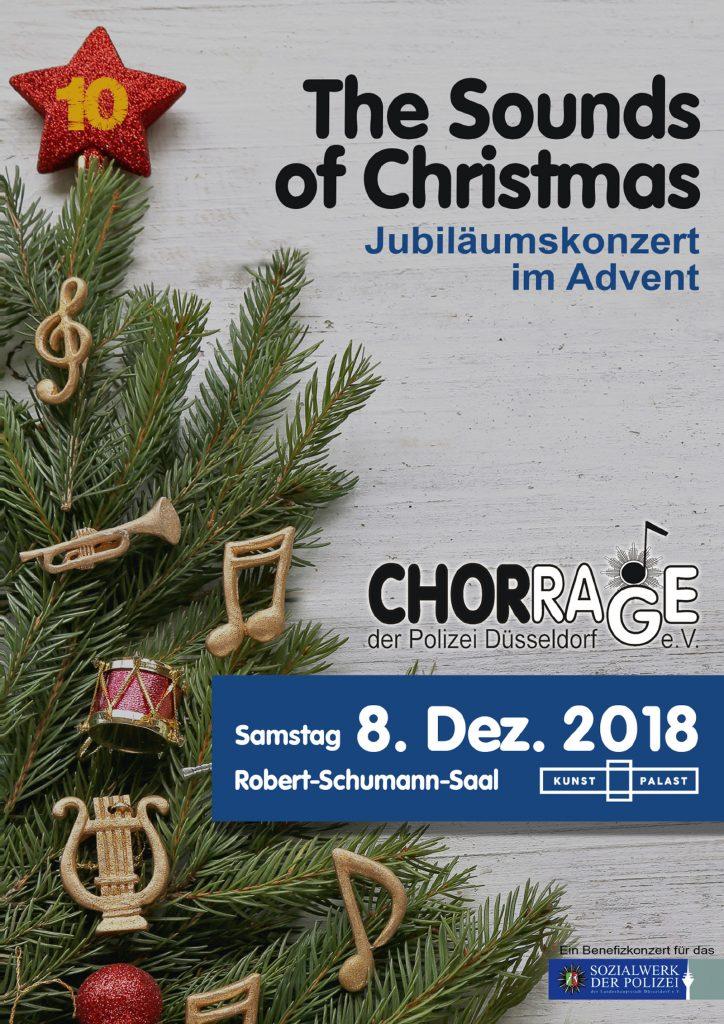 Titelseite Chorrage Weihnachten 2018