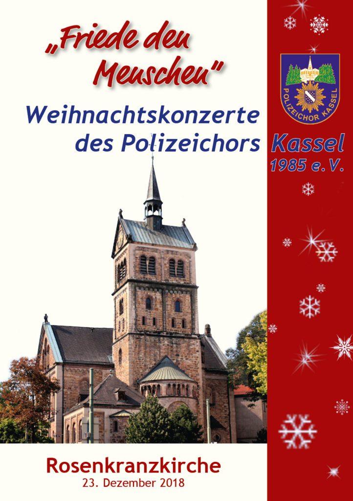 Titelseite Kassel Weihnachten 2018
